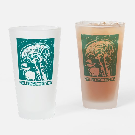 Neuroscience Drinking Glass