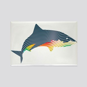 shark swoosh Magnets