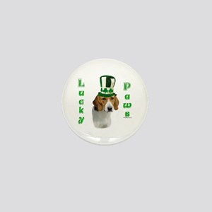 Foxhound Lucky Paws Mini Button