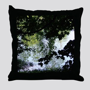 Reflectons in Acton Lake#2 Throw Pillow