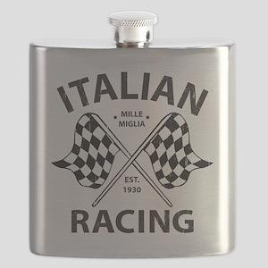 Vintage Italian Racing Flask