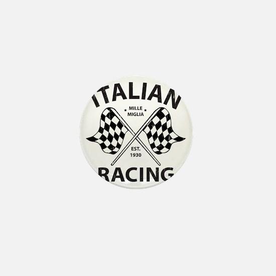 Vintage Italian Racing Mini Button