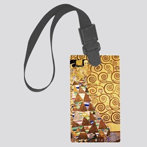 klimt woman 3 Large Luggage Tag