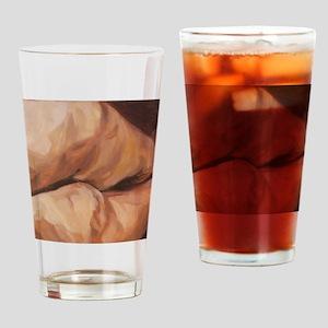 brokenness_legs Drinking Glass
