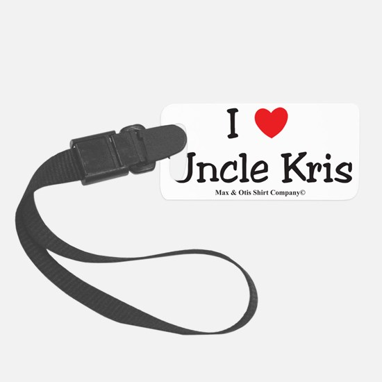i-love-uncle-kris Luggage Tag