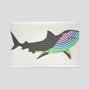 swirl shark Magnets