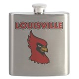 Louisville cardinal Flask Bottles