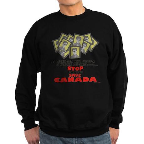 Stop Harper Save Canada Sweatshirt (dark)