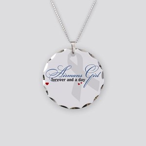 Forever airman Necklace Circle Charm