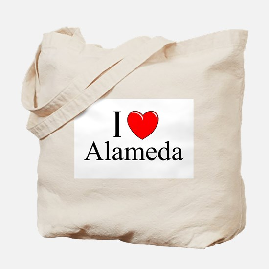"""""""I Love Alameda"""" Tote Bag"""