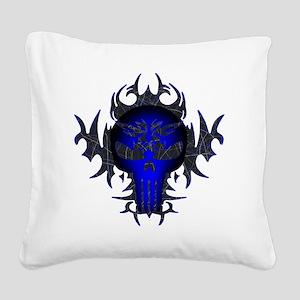 Blue2 Square Canvas Pillow