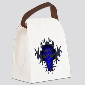 Blue2 Canvas Lunch Bag