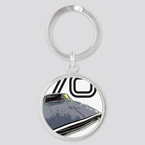 Charger 1970 Round Keychain