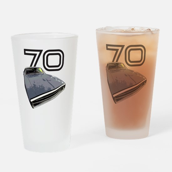 Charger 1970 Drinking Glass
