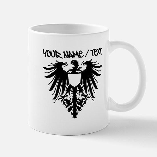 Black Polish Eagle Mugs
