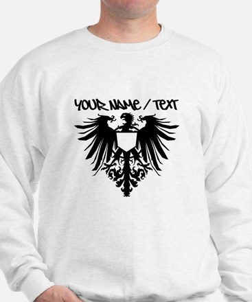 Black Polish Eagle Sweatshirt