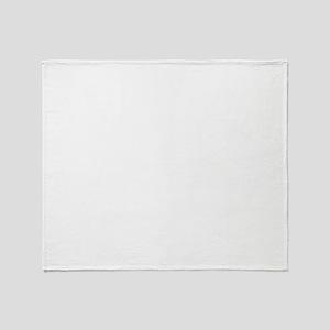 Below Is A List Of People - Yorkie Throw Blanket