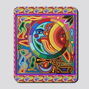 Mexican_String_Art_Image_Sun_Moon_78_iPa Mousepad