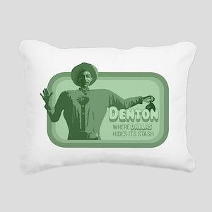 dentonstash copy Rectangular Canvas Pillow