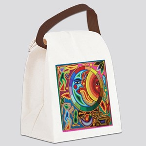 Mexican_String_Art_Image_Sun_Moon Canvas Lunch Bag