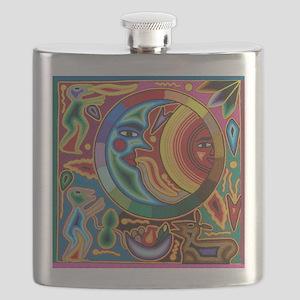 Mexican_String_Art_Image_Sun_Moon_Stadium_Bl Flask