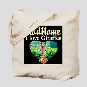 GIRAFFES RULE Tote Bag