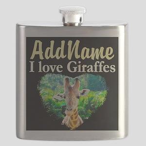 GIRAFFES RULE Flask