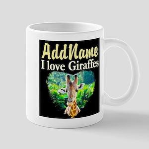 GIRAFFES RULE Mug