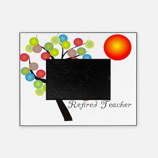 Retired Teacher Tree BALLS OF COLOR Picture Frame