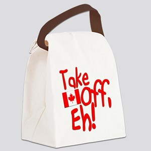 Take Off, Eh! Canvas Lunch Bag