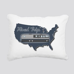 AS_325_345_MH_USA_map_Ro Rectangular Canvas Pillow