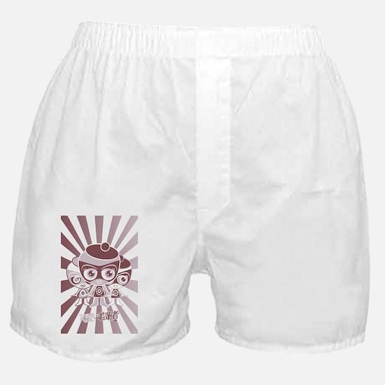 OutlawPostcardStencil Boxer Shorts