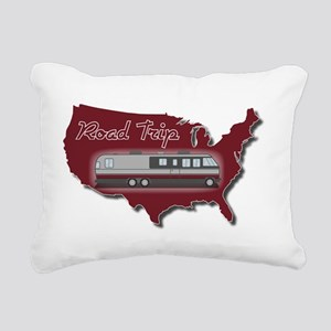 AS_325_345_MH_USA_map_Ro Rectangular Canvas Pillow