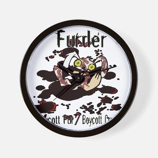 Furder Wall Clock