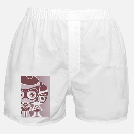 OutlawGreetCardStencilP Boxer Shorts