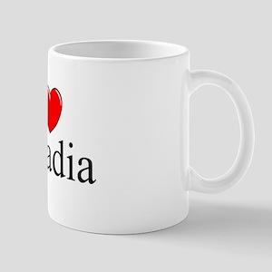 """""""I Love Arcadia"""" Mug"""