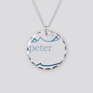 Lessons of Peter Necklace Circle Charm