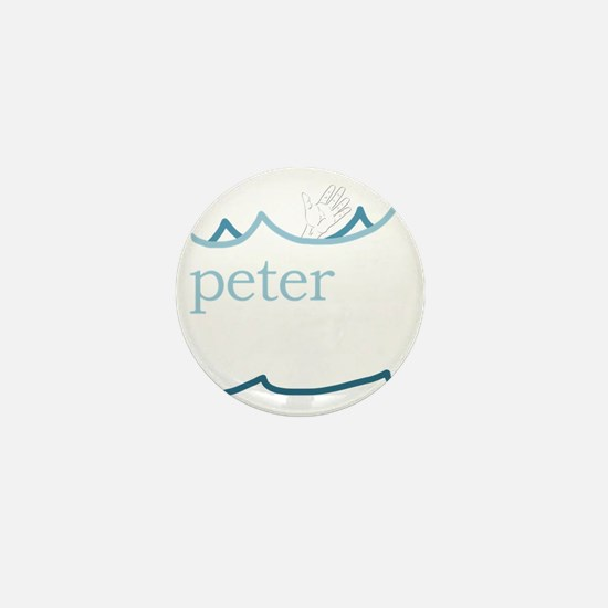 Lessons of Peter Mini Button