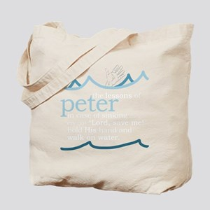 Lessons of Peter Tote Bag