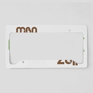 funkygradmba2011green License Plate Holder