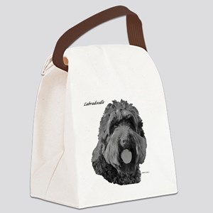 Labradoodle Canvas Lunch Bag