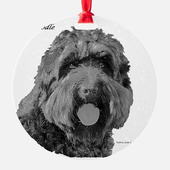 Labradoodle Ornament