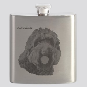 Labradoodle Flask
