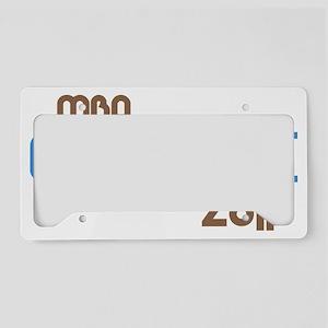 funkygradmba2011blue License Plate Holder