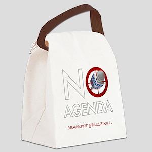No Agenda Canvas Lunch Bag