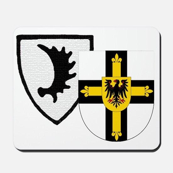 Ostpreussen Teutonic Knights Mousepad