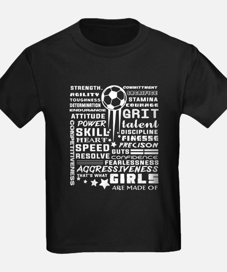 Girls Soccer T Shirt T-Shirt