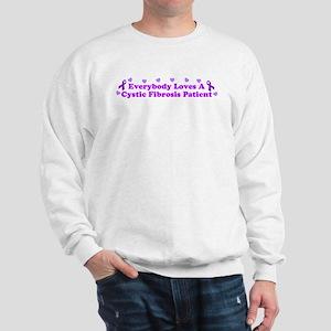 Everybody Loves A Cystic Fibr Sweatshirt