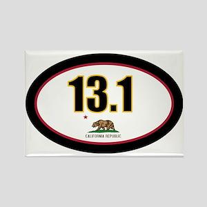 CALIFORNIA-131-OVALsticker Rectangle Magnet
