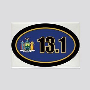 NewYork-131-OVALsticker Rectangle Magnet